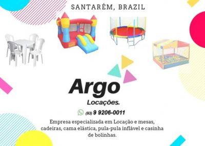 Argo Locações de Mesas, Cadeiras e Brinquedos